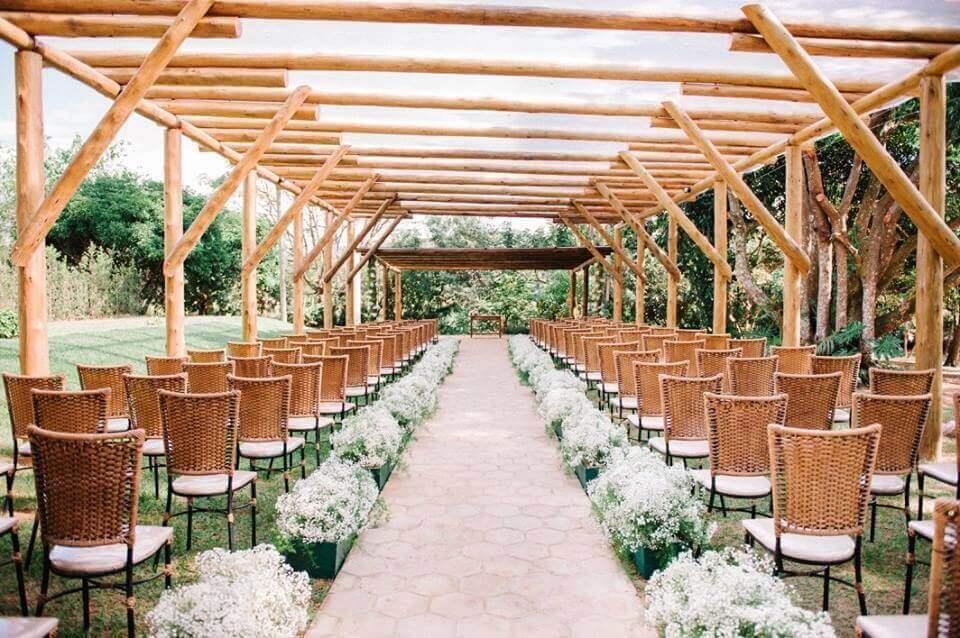 Casamento na natureza está em alta como cerimônia sofisticada